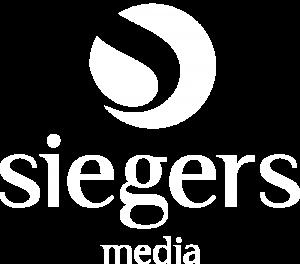 Siegers Media Logo White